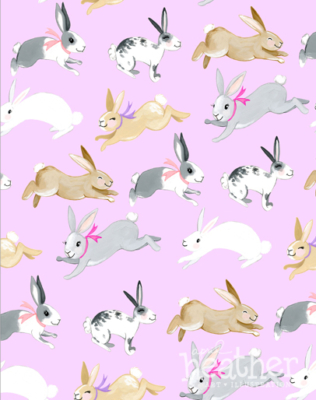 Bunny Hop Collection - April Heather Art