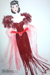 Scarlett O'Hara - April Heather Art