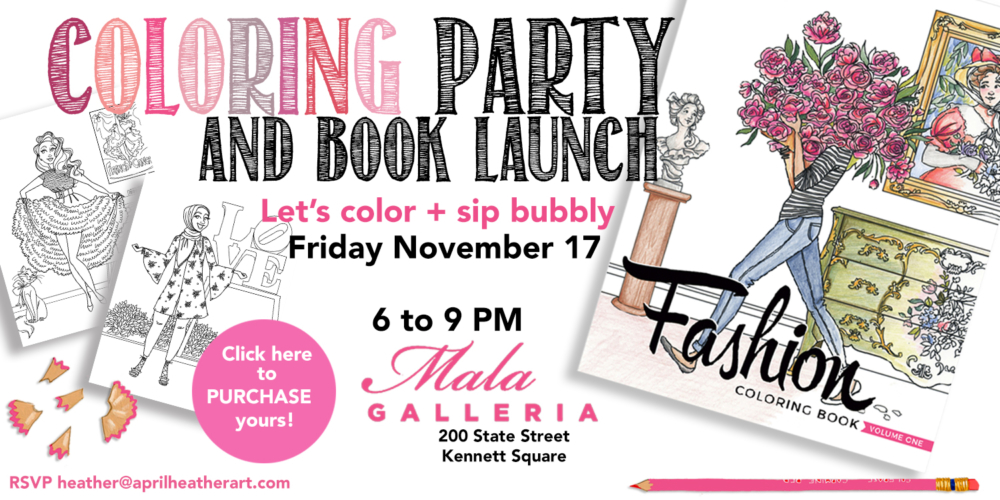 Fall 2017 coloring party