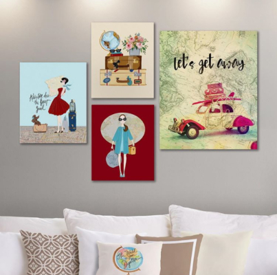 One Bella Casa Canvases - April Heather Art