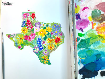 Texas Wildflowers - Hurricane Relief